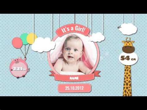 Baby Photo Album Birthday After Effects Template From Videohive Youtube Baby Photo Album After Effects Project Template Free