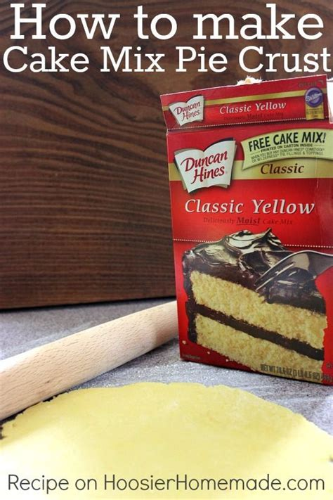 Pie Kunang Mix Flavour how to make pie crust from cake mix recipe how to make pie creative and different cakes