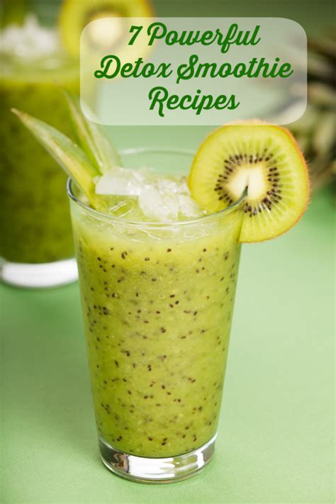 Kiwi Detox Smoothie by 7 Powerful Detox Smoothies Realfoodrecipes