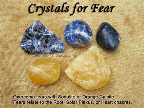 solar plexus crystals crystals for fears overcome fear with sodalite or orange