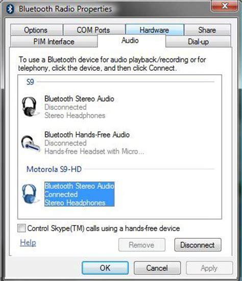 turn on bluetooth vista laptop