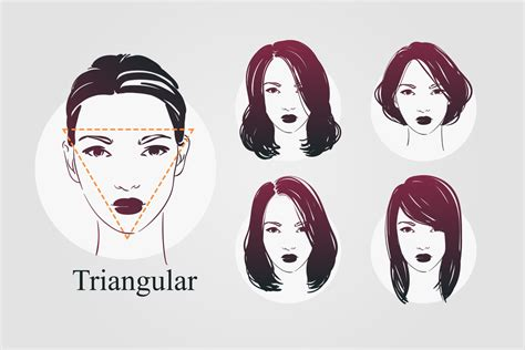 Inverted Triangle Shape Hairstyles by 9 Shapes And Best Hairstyles For Each
