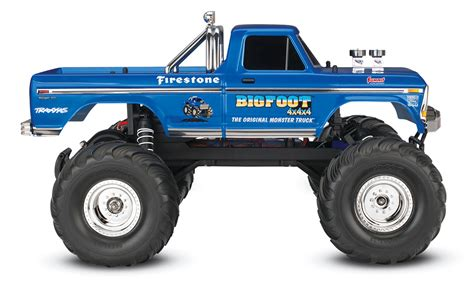 monster trucks bigfoot videos traxxas bigfoot no 1 ripit rc rc monster trucks rc