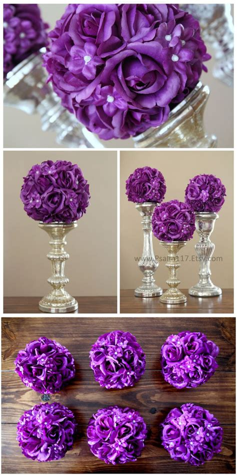 Plum Wedding Decorations – Purple Wedding   Plum Colored Reception Decor #2066062