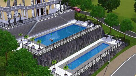 le de piscine led les sims 3 piscines images