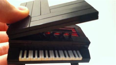lego keyboard tutorial custom lego piano youtube