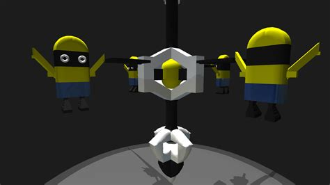 egg challenge simpleplanes minion drop egg drop challenge