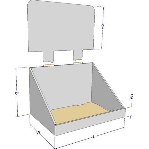 Cardboard Display Counter Buscar Con Google Cardboard Pinterest Cardboard Display Cardboard Counter Display Template