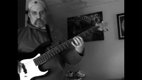 Bass Cover Of Comfortably Numb 5 String In Hd Youtube
