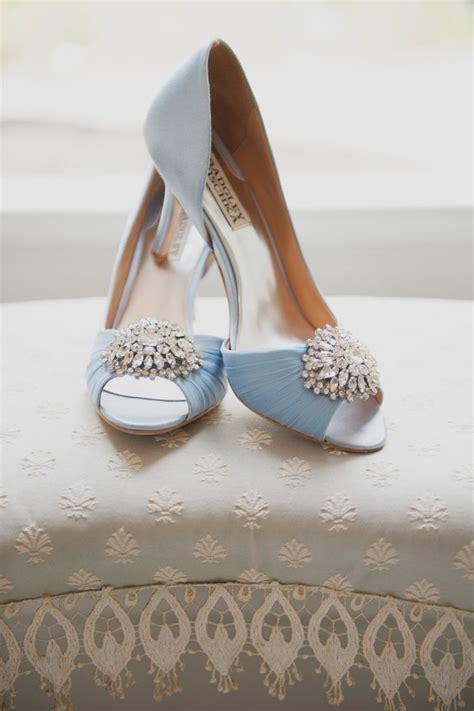 brautschuhe high heels blau hochzeitsschuhe farbig