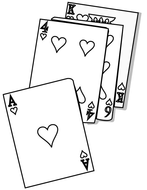 Hearts Coloring Page Handipoints Cards Coloring