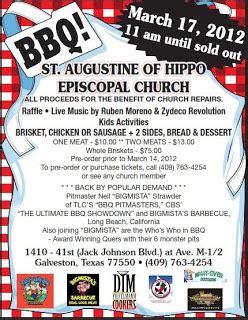 st. augustine of hippo episcopal church bbq   full custom
