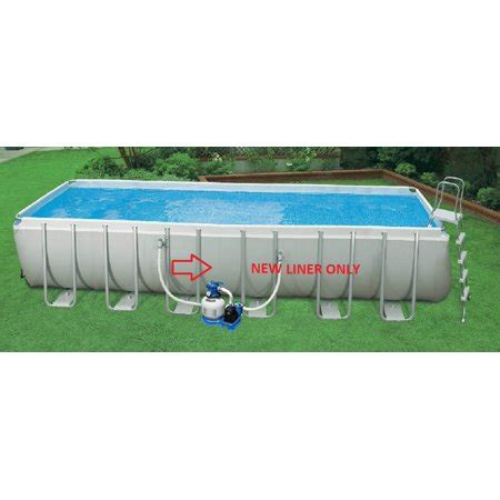 12 x 52 pool intex pool liner only ultra frame swimming pool 24 x 12 x