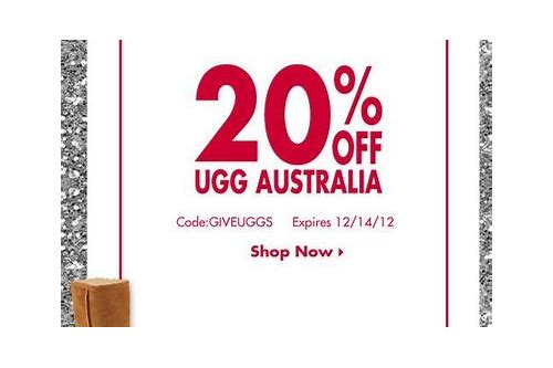 discount coupon for uggs