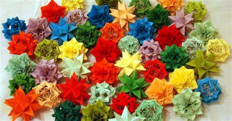 origami fiori kusudama kusudama origami