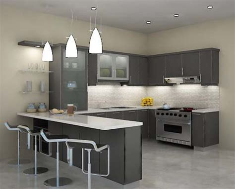 U Kitchen Design U Kitchen Designs Home Decoration