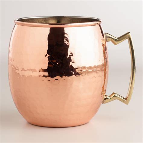 hammered copper mug world market