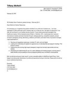 mcneill cover letter resume letters of rec