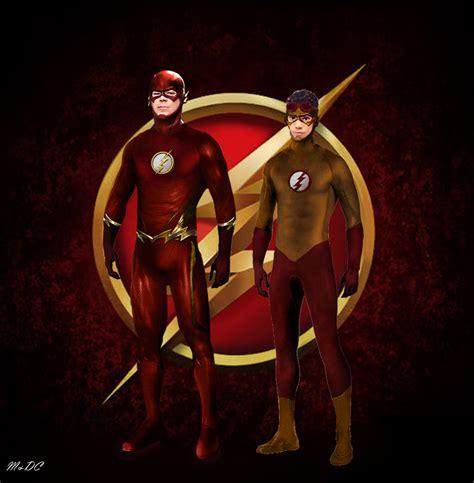 Flash Hoodie The Flash Season 2 Anime Petir Listrik flash kid flash concept the arrowverse