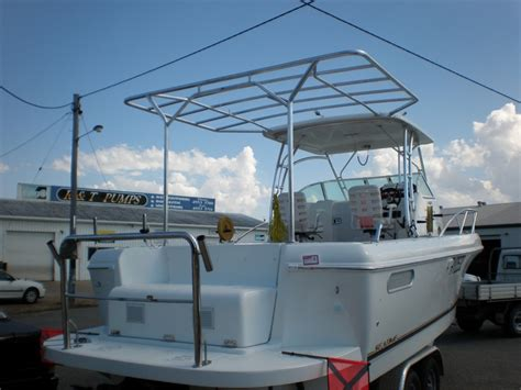 Boat Awnings by Boat Canopies Boat Modifications Mackay Aluminium Industries