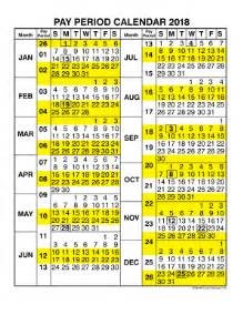 2018 Calendar Opm Fillable Nfc Usda 1217n 18 Pay Period Calendar For