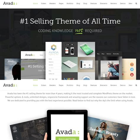 avada theme live preview 15 highly customizable wordpress themes and templates for
