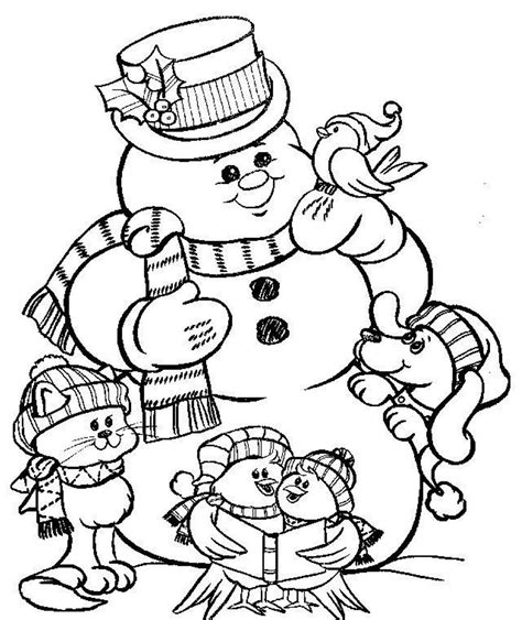 little snowman coloring page printable coloring pages christmas snowman coloring home