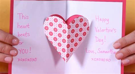 cara membuat kartu ucapan dari kertas jilid cara kreatif dan murah membuat kartu ucapan valentine