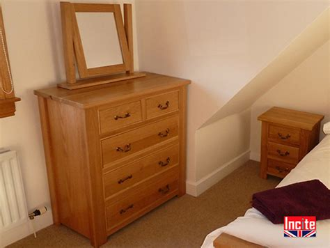 Handmade Bedroom Furniture Uk - tailor made quality oak chest of drawers incite derby
