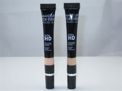 Makeup Forever Cover Concealer make up for ultra hd concealer review swatches