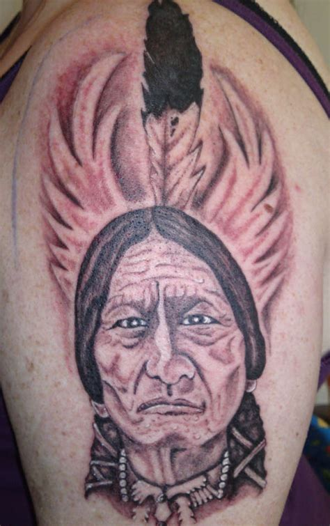 sitting bull tattoo chief sitting bull www pixshark images