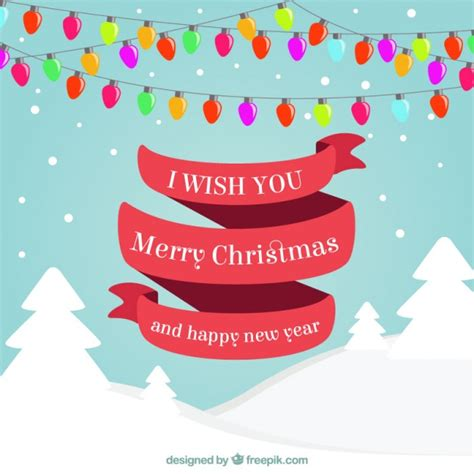 new year wishes vector christmast and new year greetings vector free
