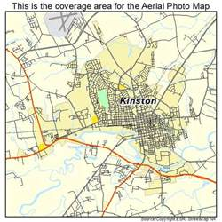 aerial photography map of kinston nc carolina
