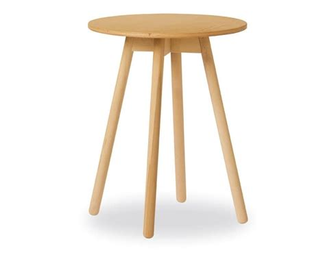 High Side Table Coffee Table In Beech With Plywood Top Idfdesign