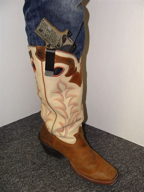 boot holster gold holsters