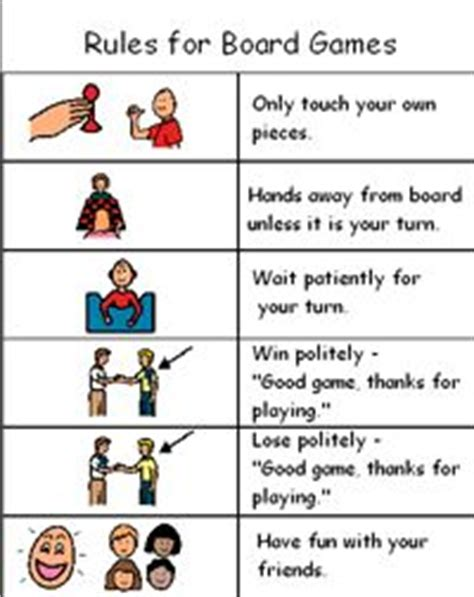 printable board game rules 1000 ideas about social stories on pinterest social