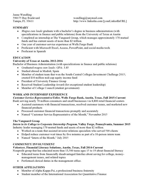 Functional Resume Sle Entry Level Funds Entry Level Resume Sles Vault