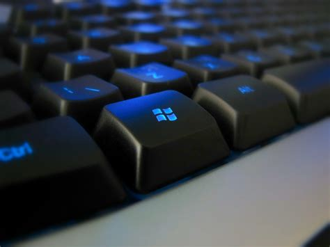 free keyboard with the black windows button backgrounds