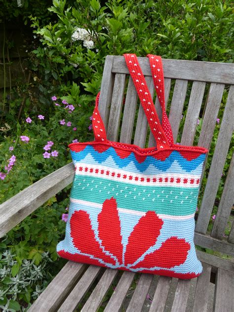 Tas Rabbit Flower madebyleen haken crochet patterns