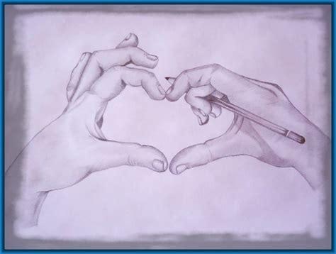 imagenes chidas lapiz dibujos de corazones a lapiz chidos y rom 225 nticos dibujos