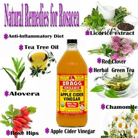 remedies for rosacea herbals and oils