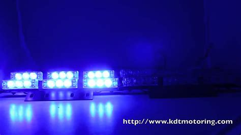 Ems Lights by 36 Led Blue Firefighter Ems Ambulance