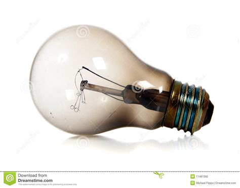 burned out light bulb stock photography image 11481392