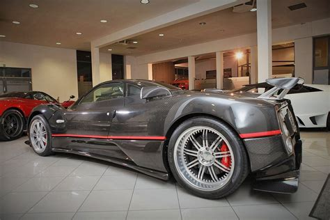 pagani dealership prototype 0 pagani zonda gj updated and put for sale