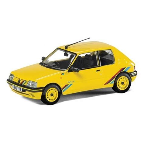 peugeot yellow vanguard peugeot 205 rallye yellow 1 43 rb modelsrb