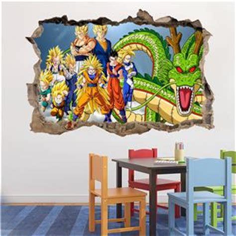 dragon ball z wall decal removable wall sticker mural goku dragon ball z wall decal removable wall sticker mural goku