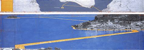 floating piers walk on the water christo s floating piers
