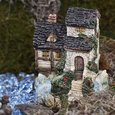 Ceramic Cottage miniature winding ceramic cottage garden miniatures dollhouse miniatures doll