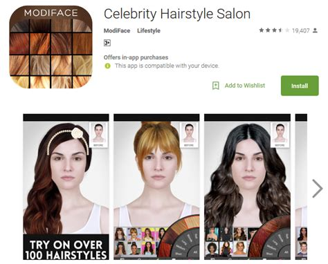 virtual hairstyles app android free download virtual haircut software erogontactical