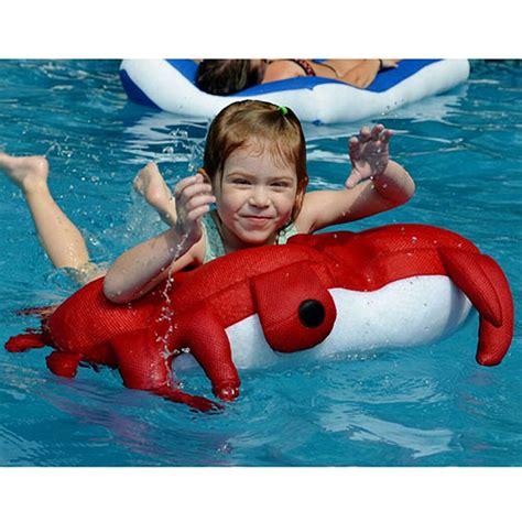 the crab seaside rider intheswim pool